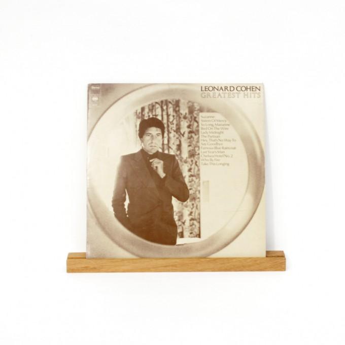 VLO design / Wandregal, Schallplattencover Regalleiste aus Eiche