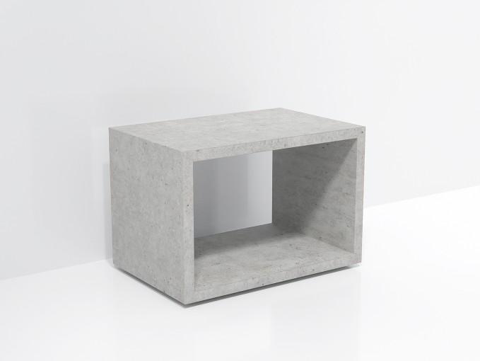 FORMDIMENSIONEN Beton Lowboard »Naked 60«