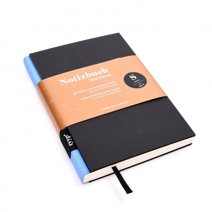 tyyp Notizbuch DIN A6 (Schwarz)