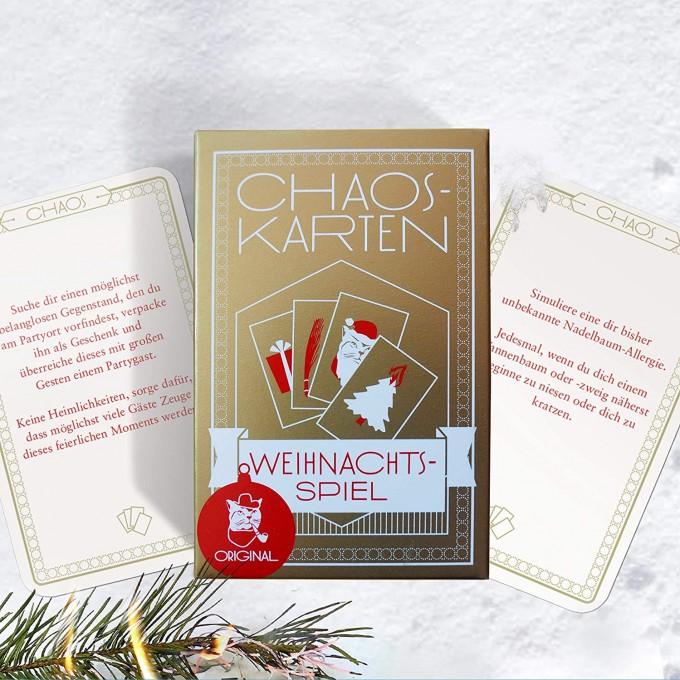 Chaoskarten Weihnachtsspiel