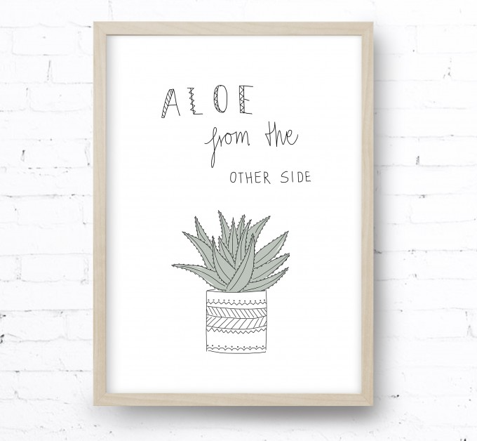 Kruth Design POSTER / ALOE