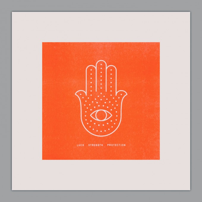 Feingeladen // SIMPLY DIVINE // Hamsa Hand »Luck Strength Protection« (FO)