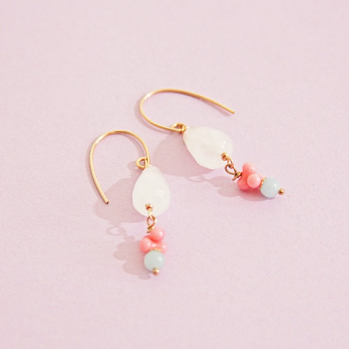 Irmeline - Accessoires Manufaktur Ohrringe »Lempicka *2«
