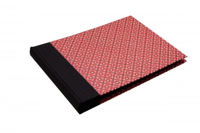 Nauli großes Fotoalbum schwarz rot