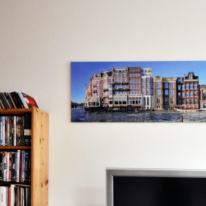 PanoramaStreetline Amsterdam Streetline Panorama Gallery Print