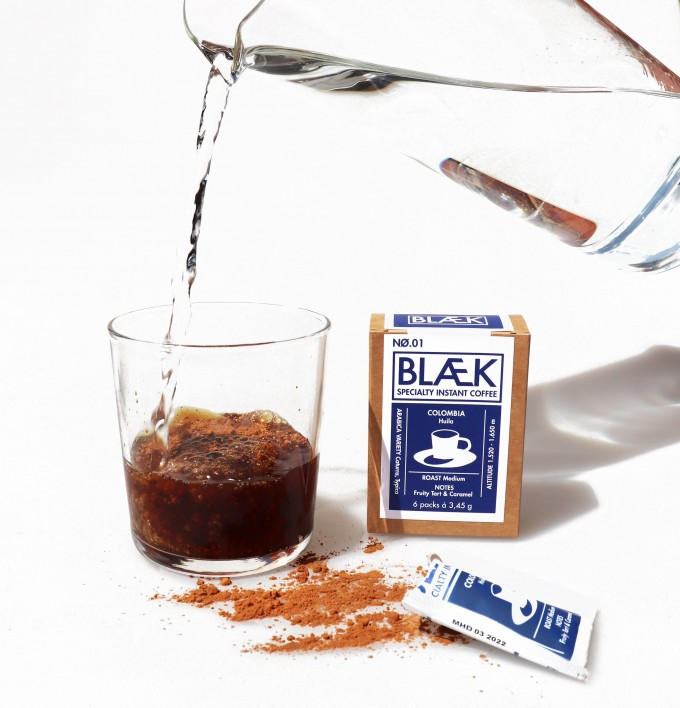BLÆK - Specialty Instant Kaffee NØ.1 (1 Box mit 6 Sachets)