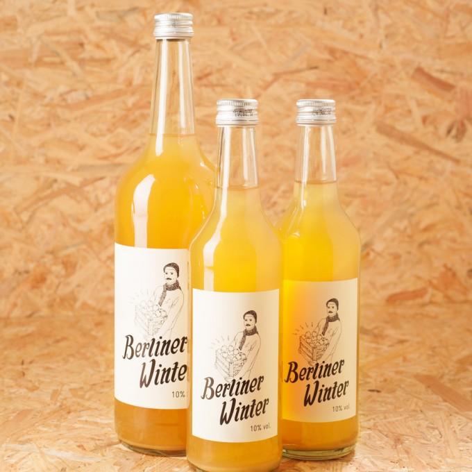 Berliner Winter - Die Alternative zu Glühwein. Alkoholisches Heißgetränk mit Apfelsaft, Wodka und Gewürzen. Kombi-Set A (1 x 1,0l + 2 x 0,5l)