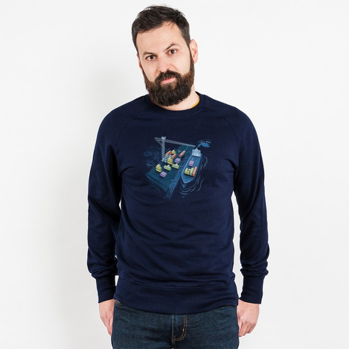 Robert Richter – Game Port - Organic Cotton Sweatshirt