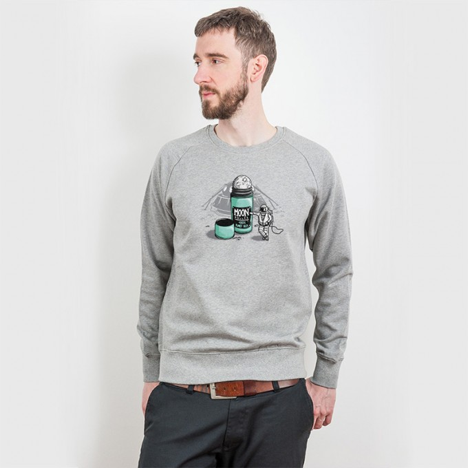 Robert Richter – Moon Roller - Organic Cotton Sweatshirt