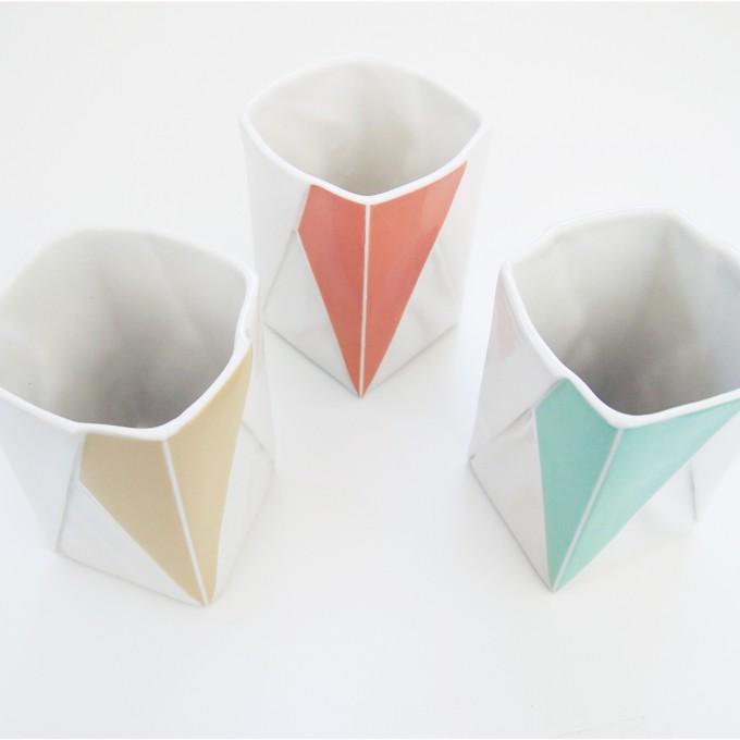 moij design Origami Becher