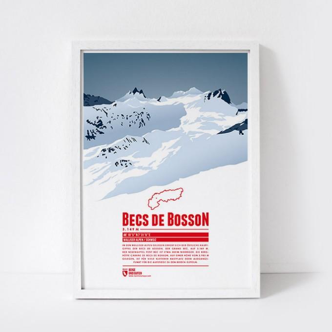 Marmota Maps – Becs de Bosson - Bergdruck