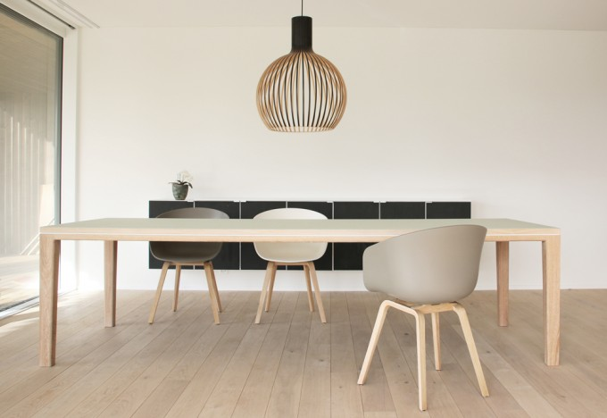 bpistorius tisch esstisch r10 linoleum 260cm. Black Bedroom Furniture Sets. Home Design Ideas