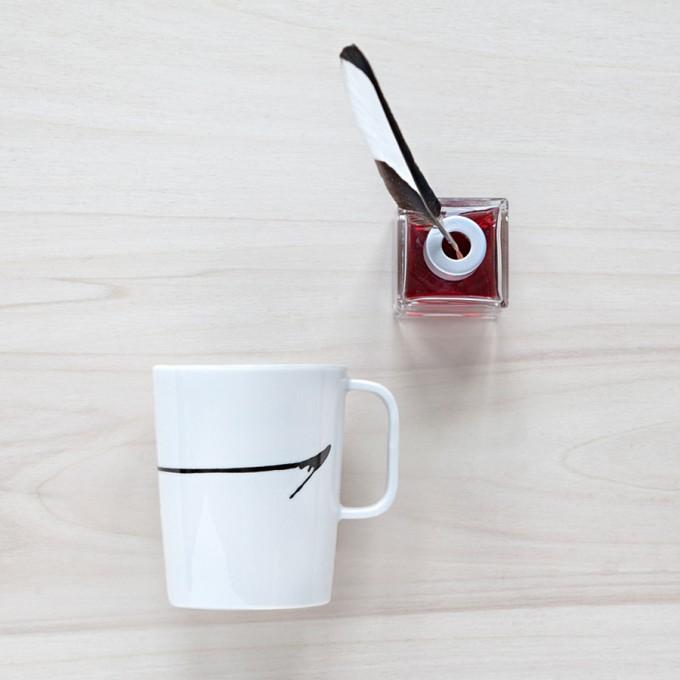 """Amy & Kurt Berlin Kaffeebecher """"Black ink"""""""