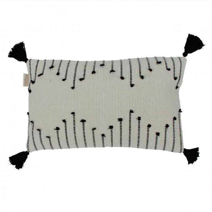 adorist -  Boho Kissenbezug Tassel, rechteckig