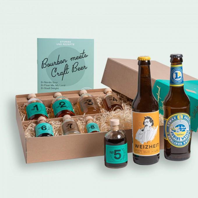 Drink Syndikat   Bourbon Meets Craft Beer - Whisky Cocktail Set