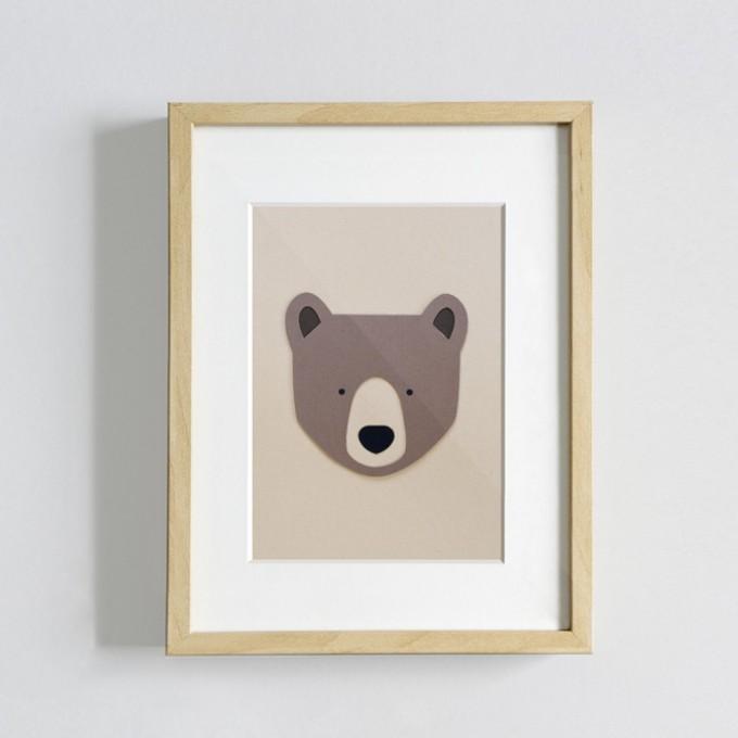 Papragout Braunbär