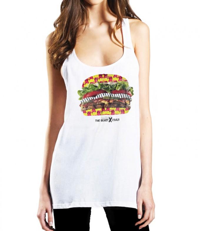 Coazi Burger Tank-Top
