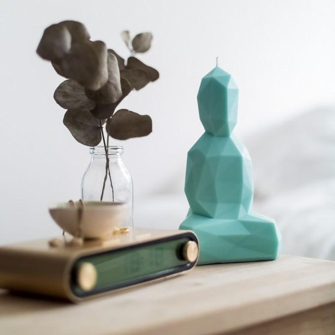 Burning Buddha – Buddha Kerze – Mint