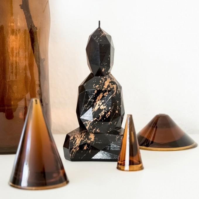 Burning Buddha - Buddha Kerze - Meister
