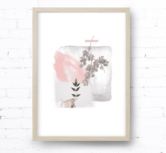 Kruth Design POSTER / COLLAGE BLUSH