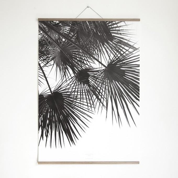magnetische Posterleiste A4, Click - On - Frame, Rahmen (inkl. Artprint), Holzrahmen
