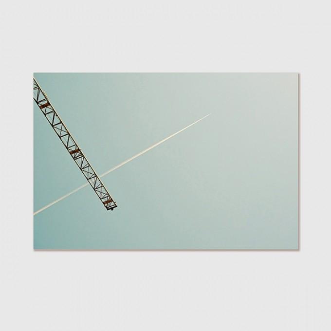"ZEITLOOPS ""Cross"", Poster ca. A4 / A3"