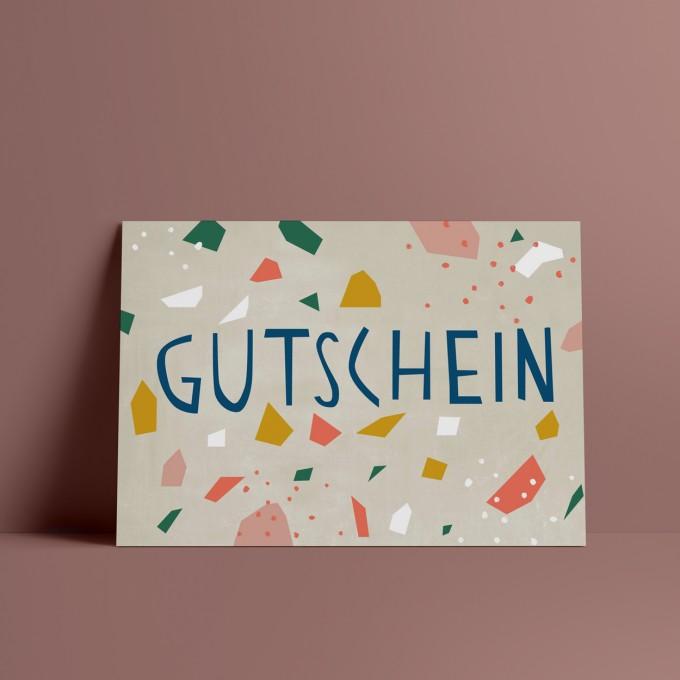 Designfräulein // Postkarte // Gutschein