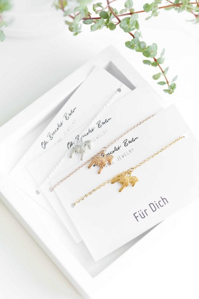 Oh Bracelet Berlin – Dala Pferd Armband