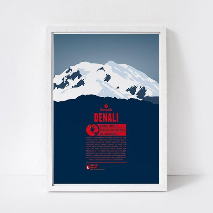 Marmota Maps – Denali - Bergdruck