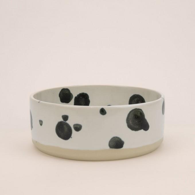 4 Nooks - Dog Bowl / Hundenapf JUNA - Dalmatiner