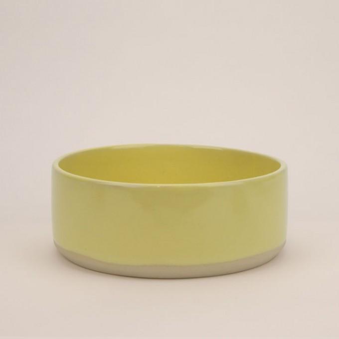 4 Nooks - Dog Bowl / Hundenapf JUNA - Sonnengelb I