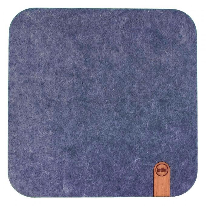 farbflut Design | Designer Mousepad FELTRO aus Filz