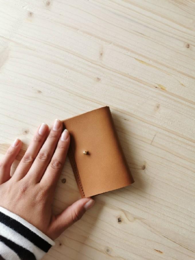 BSaite / Mini Leder Portemonnaie / Partygeldbörse / Leder Kartenetui / tiny wallet / boho