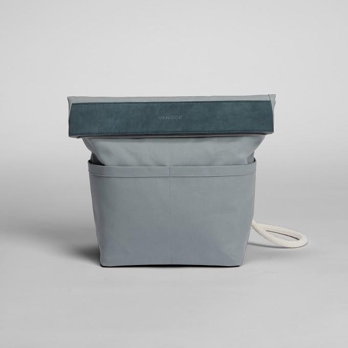 VANOOK – Dual Backpack SmallTeal