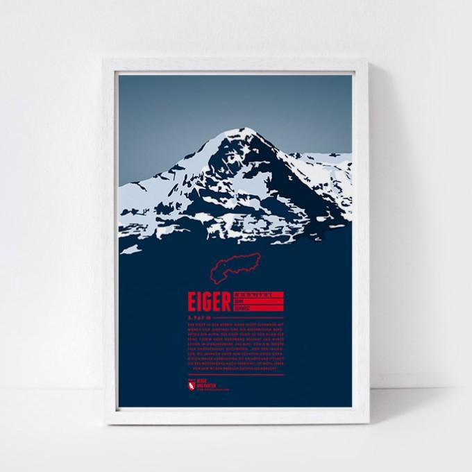 Marmota Maps – Eiger - Bergdruck
