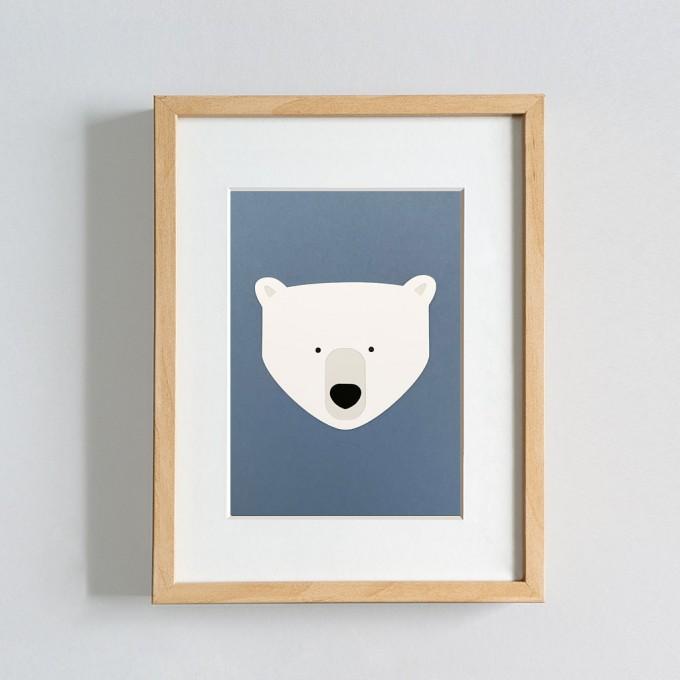 Papragout Eisbär