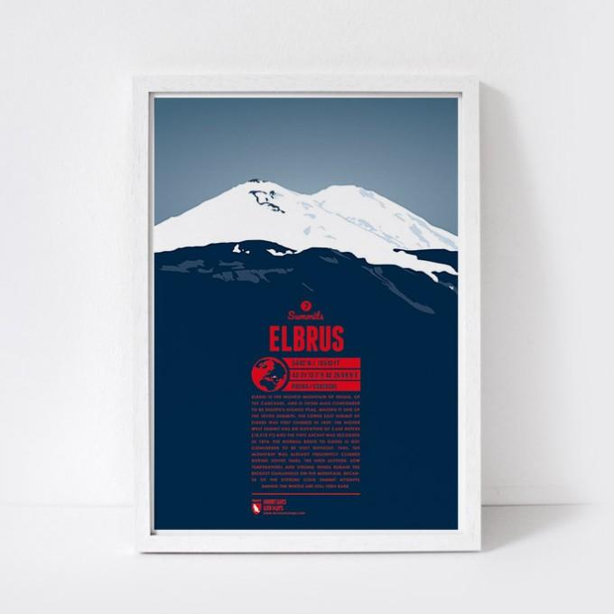 Marmota Maps – Elbrus - Bergdruck