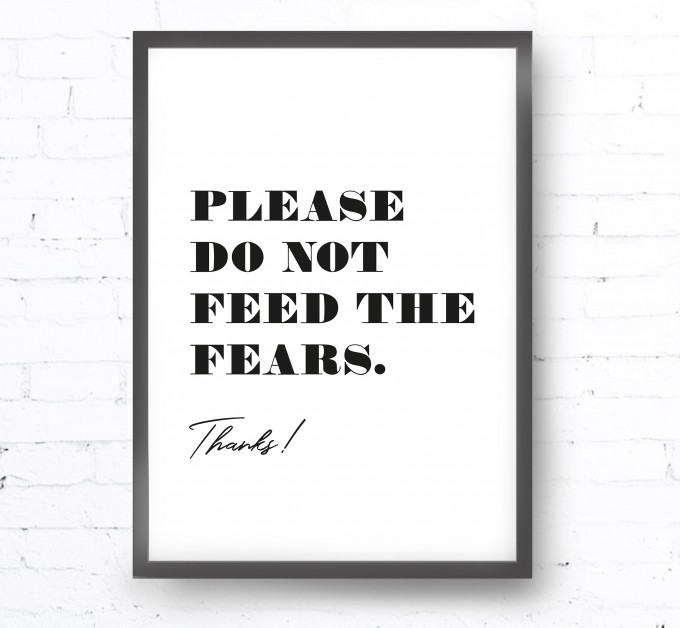 Kruth Design POSTER / FEARS