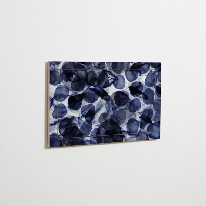 AMBIVALENZ Fläpps Sekretär/in – Bubbles Indigo by Pattern Studio