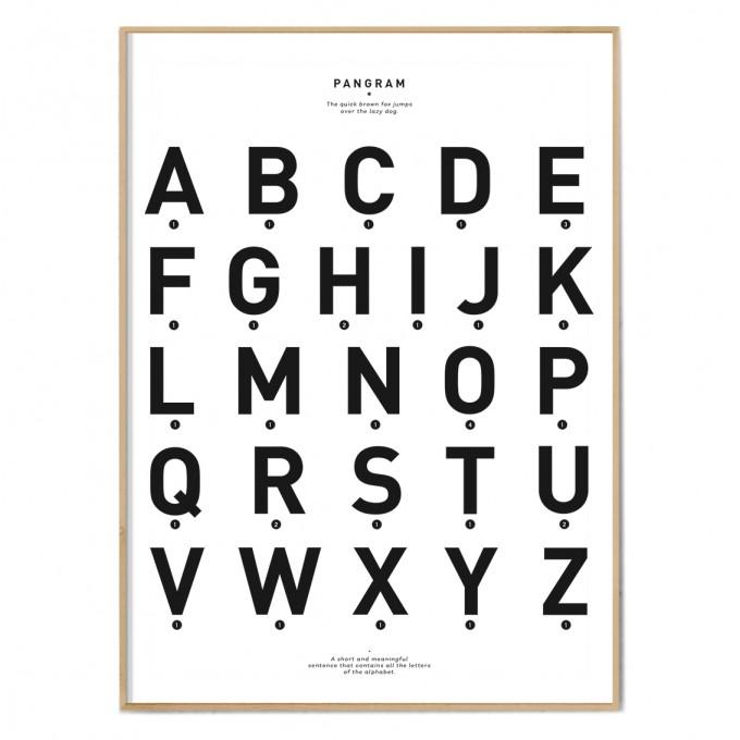 FOX&POET Poster *PANGRAM*