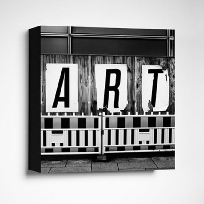 FrankfurterBubb ARTLimited Edition schwarz-weißFoto-Kachel
