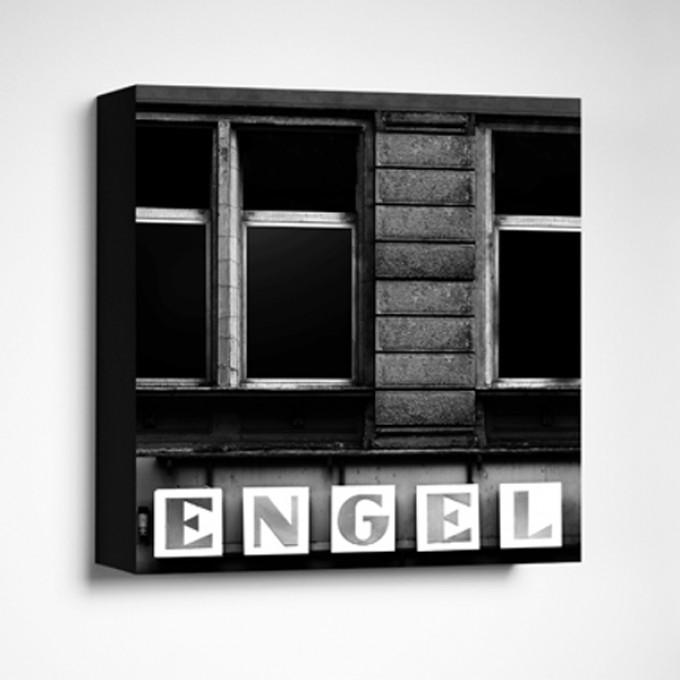 FrankfurterBubb ENGELLimited Edition schwarz-weißFoto-Kachel