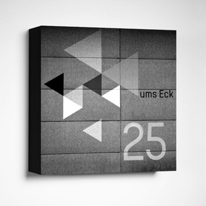 FrankfurterBubb UMS ECKLimited Edition schwarz-weißFoto-Kachel
