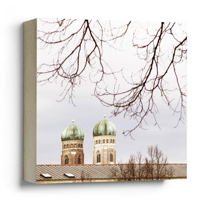 "München im  Quadrat - ""Frauenkirche"""