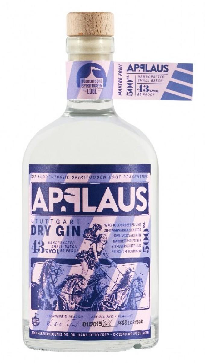 Applaus Dry Gin 500ml