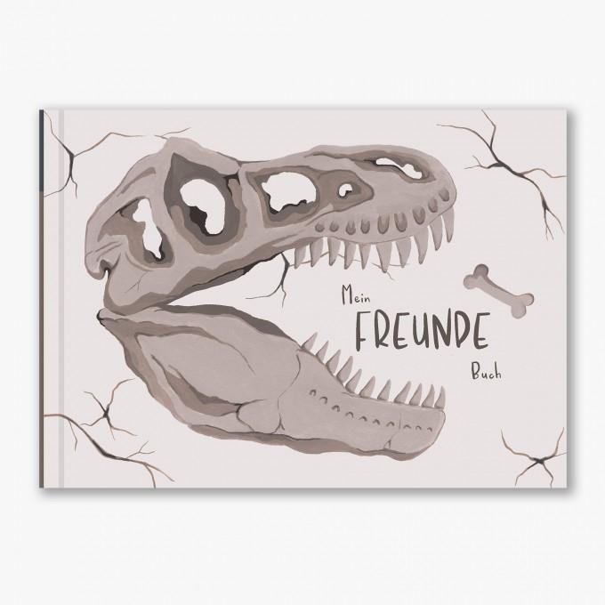 Freundebuch Kindergarten und Schule - Dinosaurier - Elliet