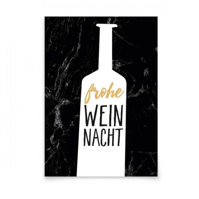 aprilplace // Weinnacht // Weihnachtskarte A6