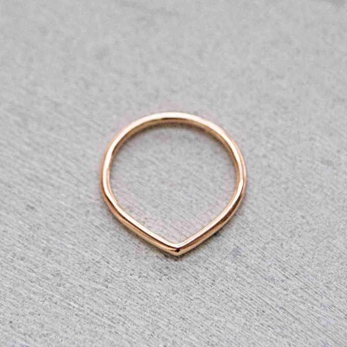 iloveblossom FUN WITH GEOMETRY RING // drop // rosé