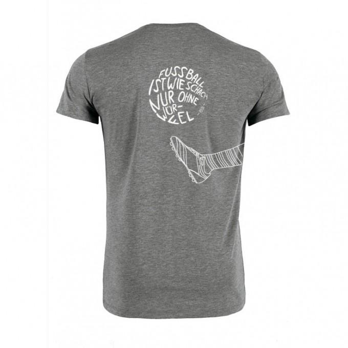 melike mal T-Shirt Fussball ist wie Schach