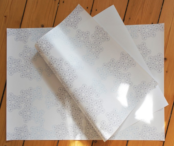 Anna-Katharina Ledwa Ornament Gift Wrapping Paper (DIN A2)